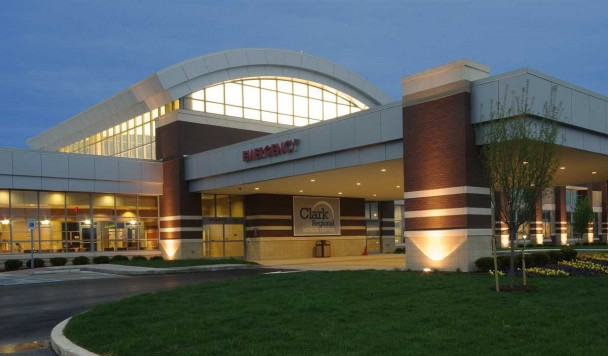 Clark Regional Medical Center - Main Entrance